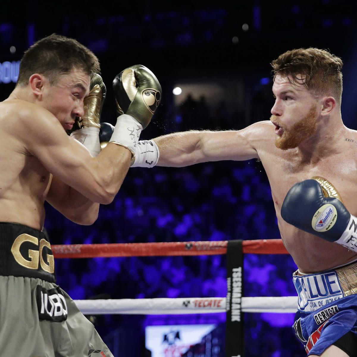 GGG Targeting September Rematch Vs. Canelo Alvarez After