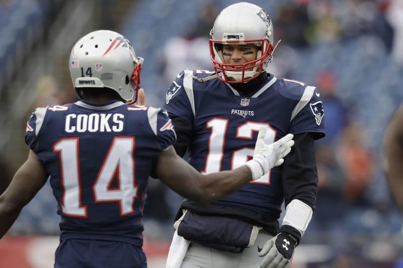 pretty nice 714c0 c6cdf Report: Tom Brady 'Not Sad' over Brandin Cooks Trade; WR ...