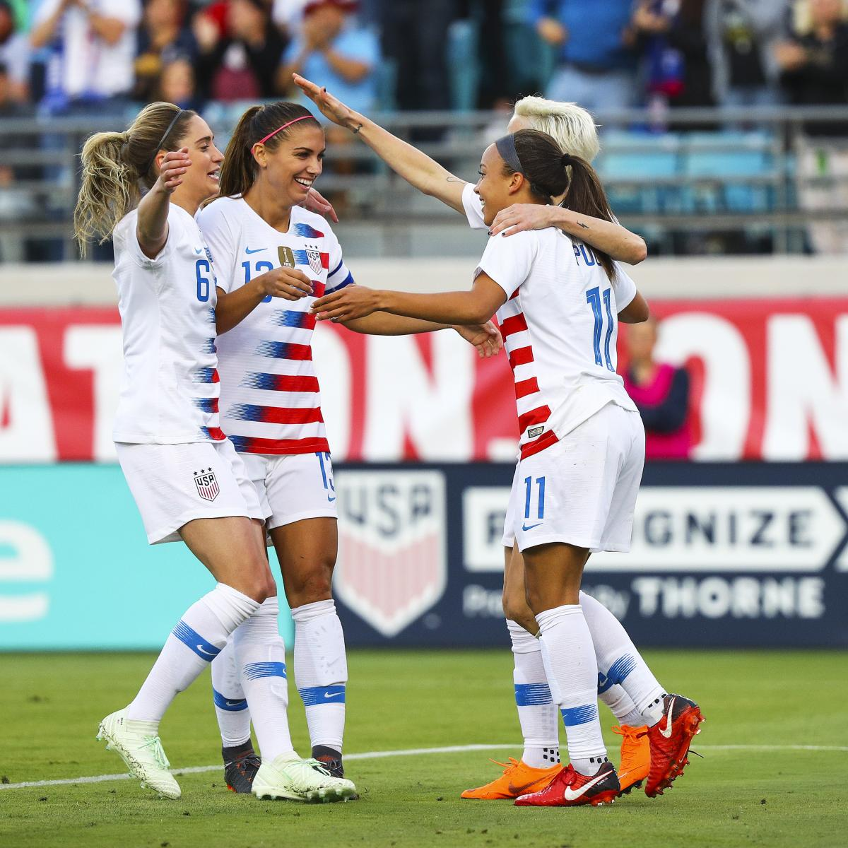 USA Vs. Mexico: Date, Time, Live Stream For 2018 Women's