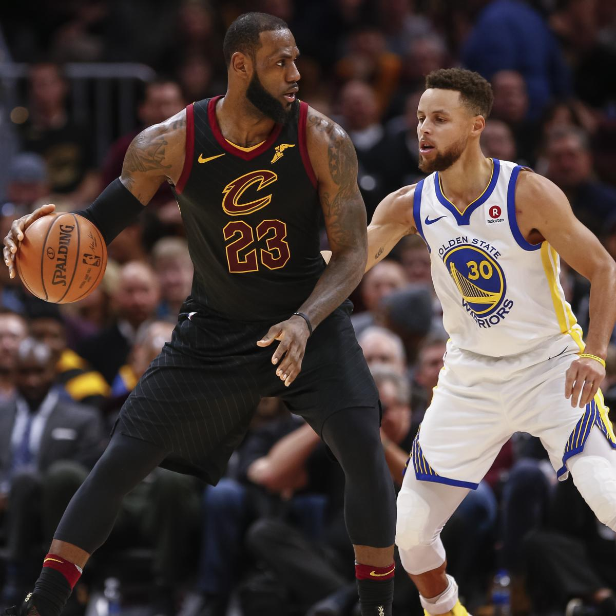 Stephen Curry, LeBron James Headline US Men's Basketball