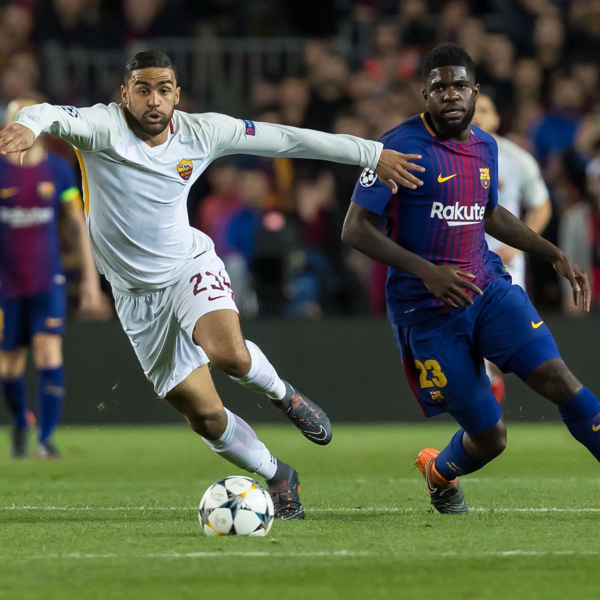Champions League Roma Vs Barcelona: Roma Vs. Barcelona: Preview, Live Stream, TV Info For UCL