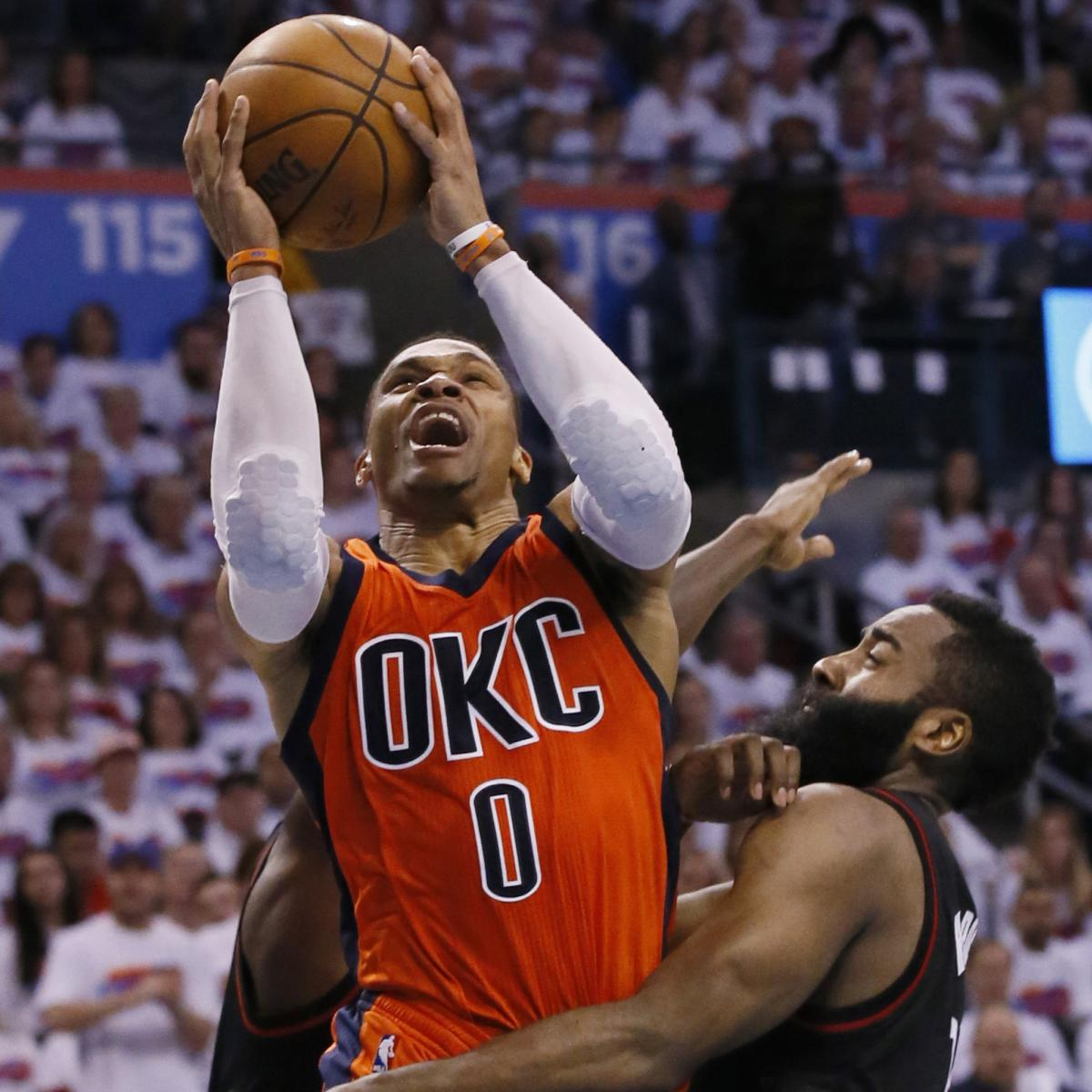 James Harden Yearly Stats: Russell Westbrook 'Not Sure' Whether James Harden Will Win