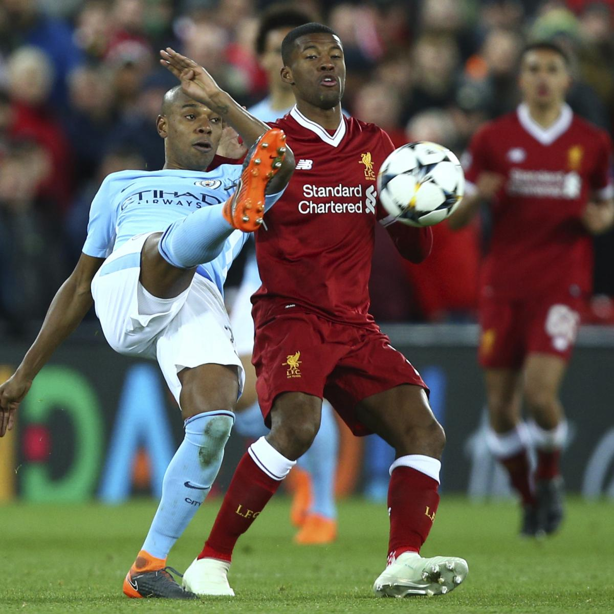 Manchester city vs liverpool preview live stream tv info for ucl match bleacher report - Manchester city vs liverpool live stream ...
