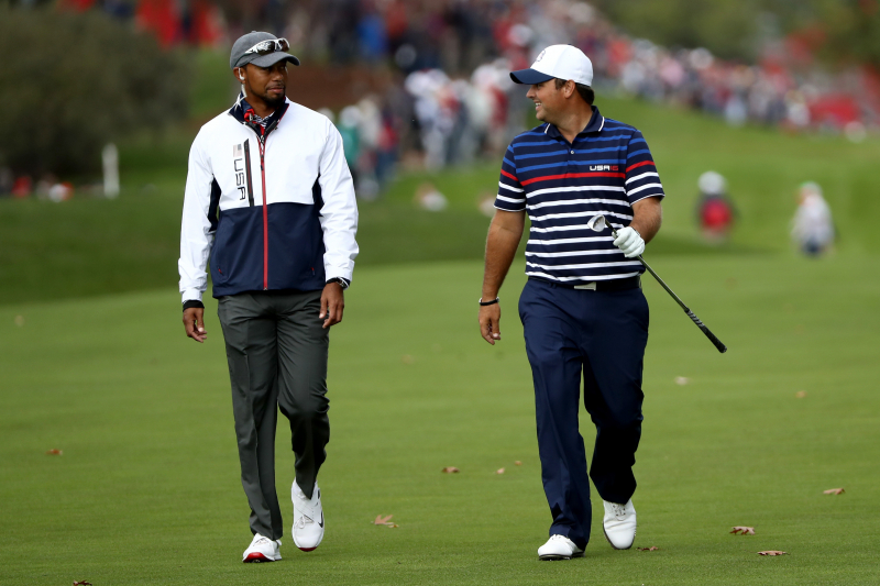 Tiger Woods Congraulates Patrick Reed, Assures Him Presidents Cup Captain Pick
