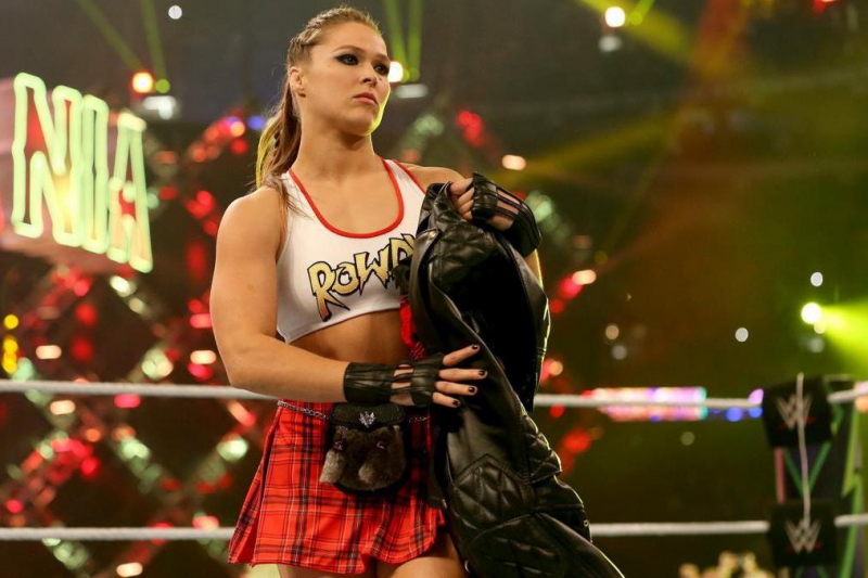 Twitter Reacts to Ronda Rousey, Brock Lesnar, More WWE WrestleMania 34 Results