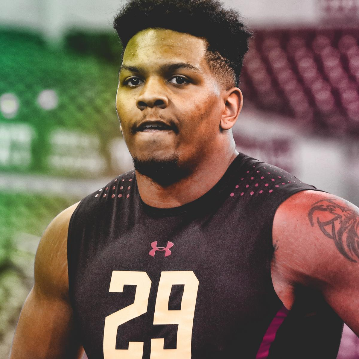 Epic Workout Monster Highlights: 'What's Wrong With NFL Draft Prospect Marcus Davenport