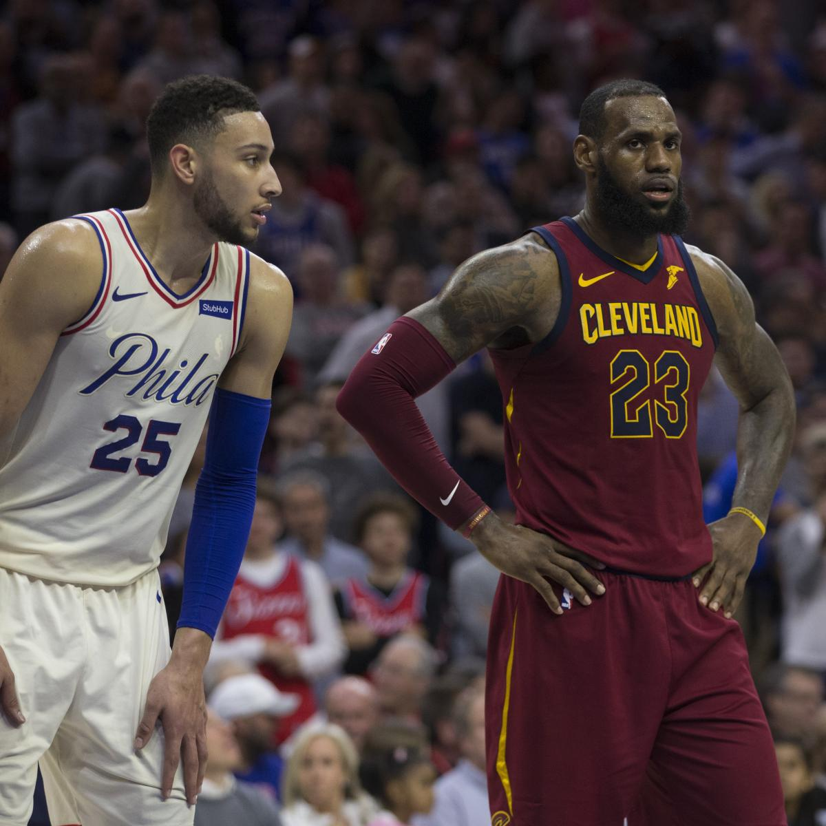 NBA Playoff Standings 2018: Latest Records, Postseason