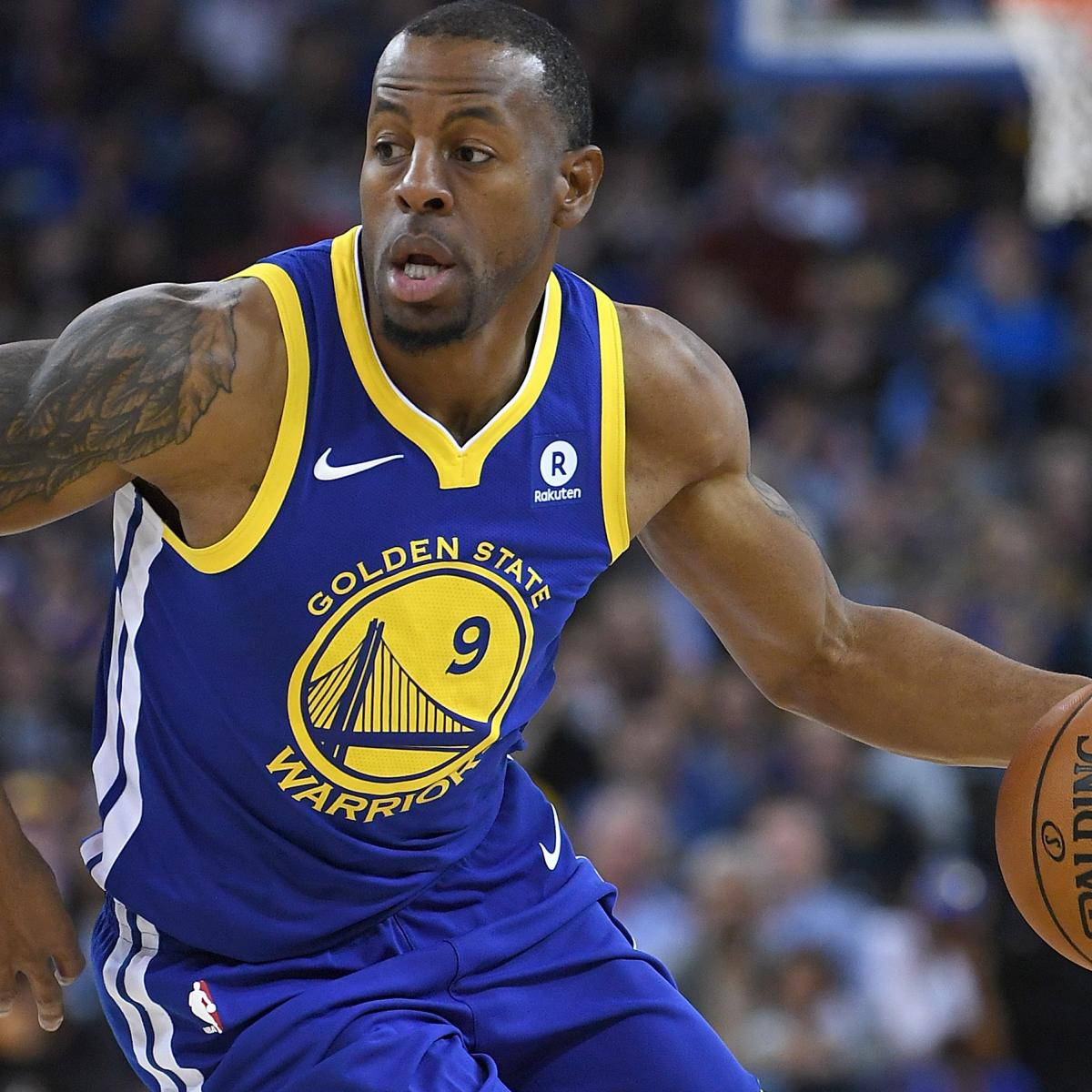 Warriors Come Out To Play Bleacher Report: Andre Iguodala Expected To Be Ready For Warriors Playoffs