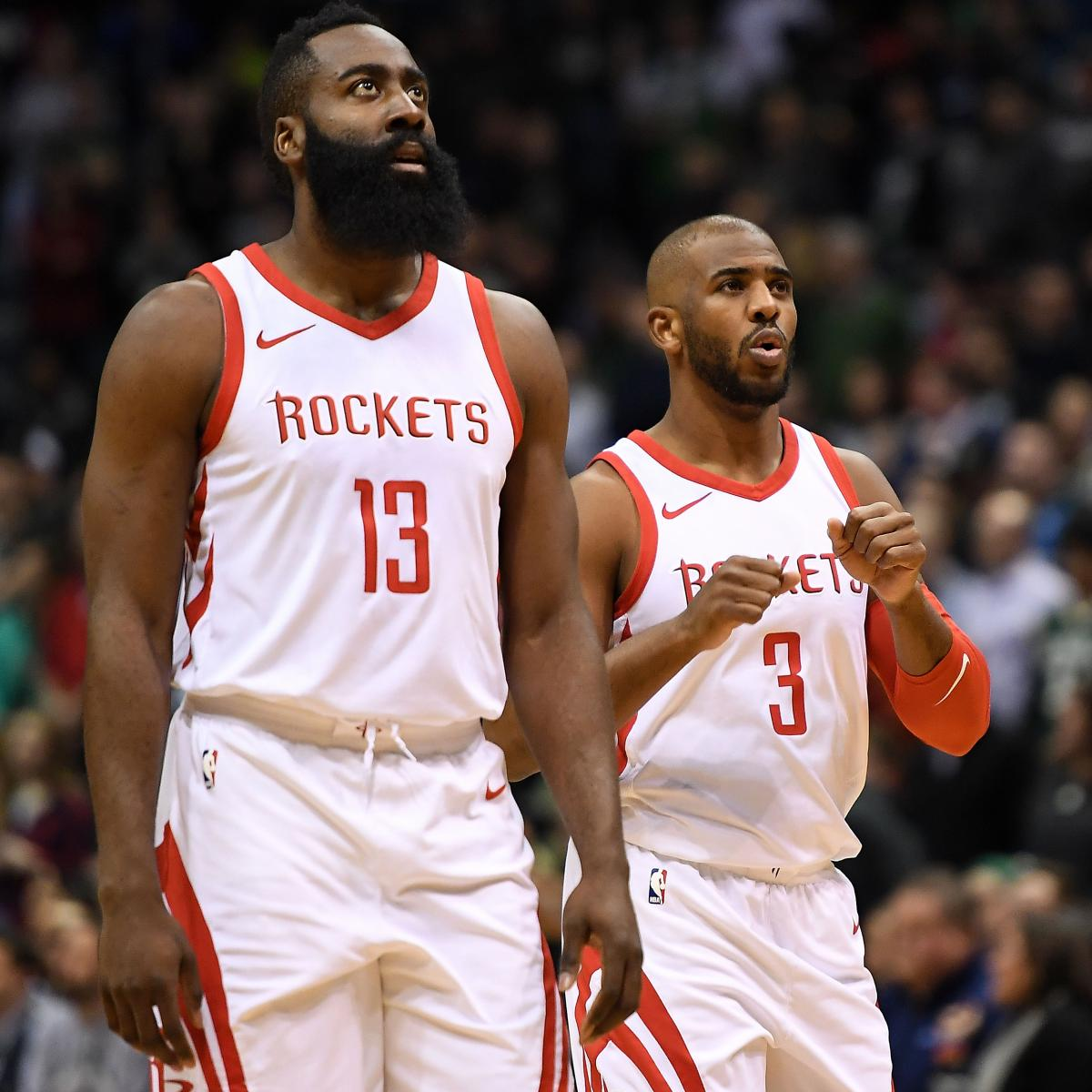 Rockets All Time Roster: Can You Be A Superteam With Two Stars? Houston Rockets