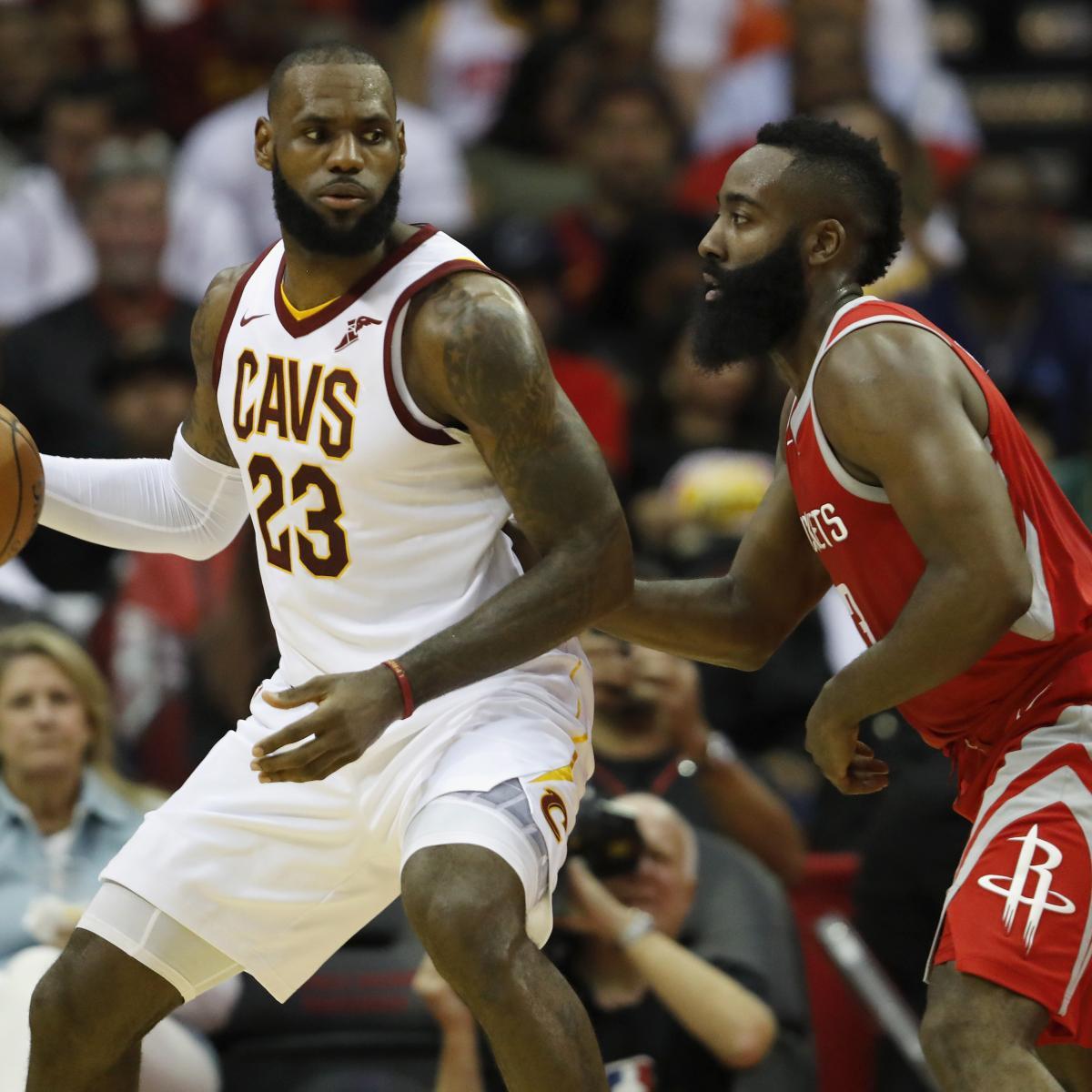 James Harden Points Last Night: NBA MVP 2018: James Harden, LeBron James Take Two-Man Race