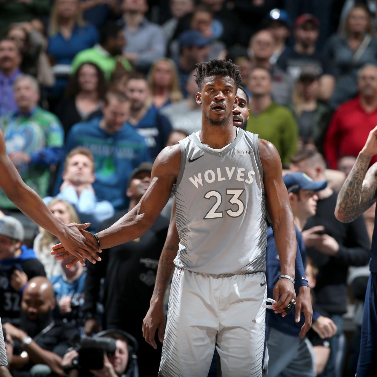 Jimmy Butler, Timberwolves Clinch Playoff Berth With