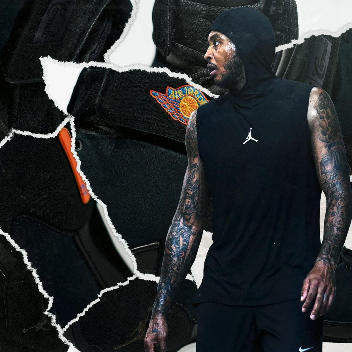 9a4b7d44d407 B R Kicks Exclusive  Carmelo Anthony s Return to the Jordan Melo 1.5 ...