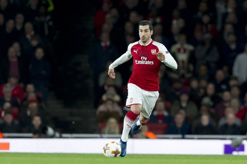 531cafdc7 Arsene Wenger Issues Positive Update on Henrikh Mkhitaryan Injury ...