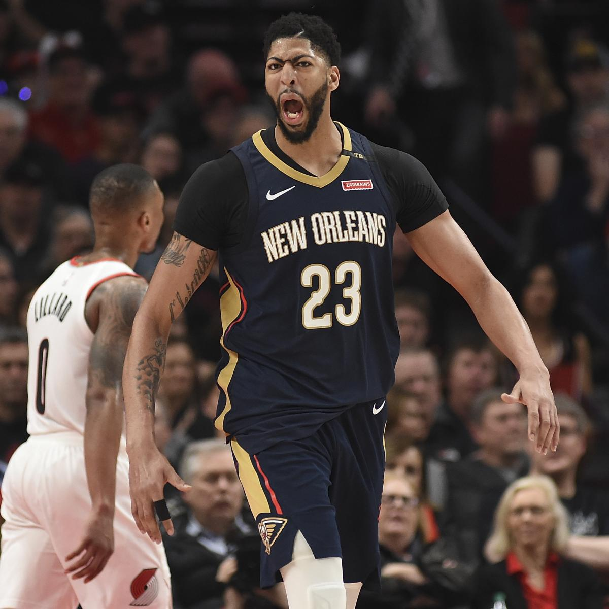 Anthony Davis On Game 1 Win Vs. Blazers: 'Means A Lot To