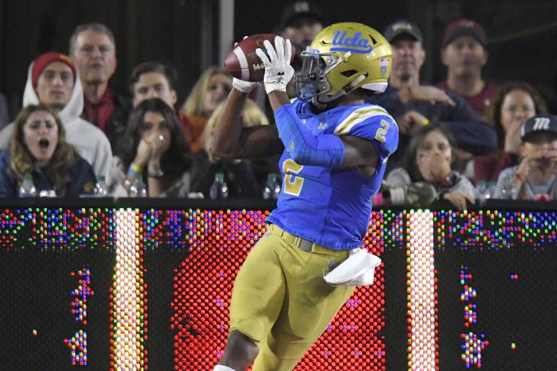 newest 65bf3 54592 Jordan Lasley NFL Draft 2018: Scouting Report for Baltimore ...