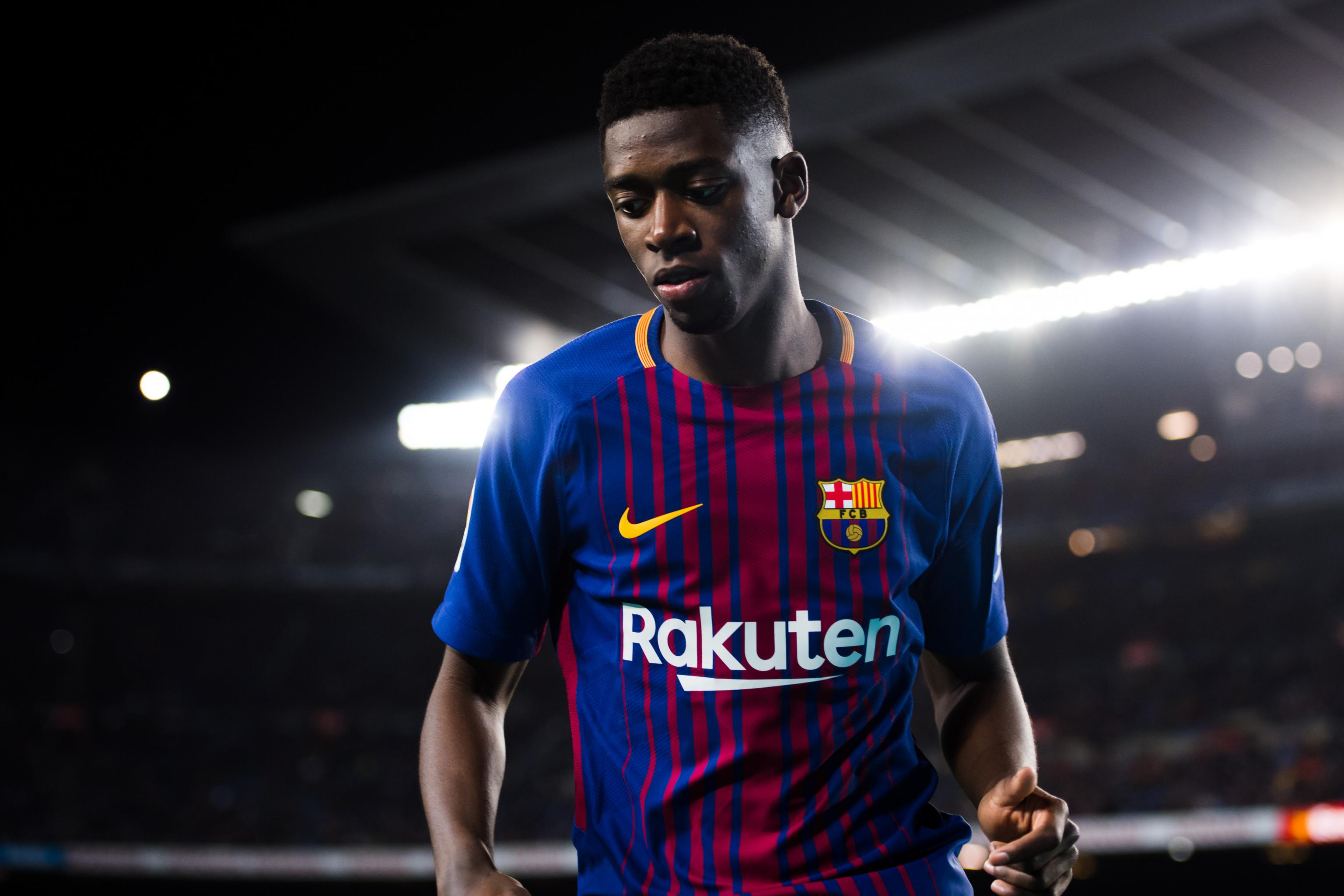finest selection 604e5 cce86 Barcelona Transfer News: Ousmane Dembele Responds to Exit ...