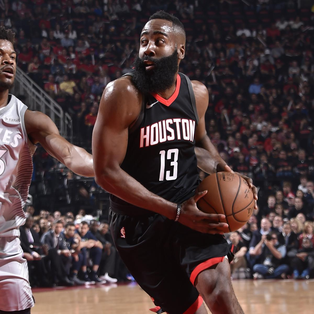 Houston Rockets Game Log: James Harden Erupts For 44 Points As Rockets Beat Jimmy