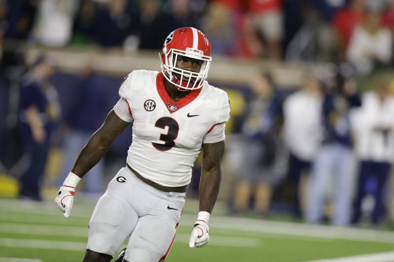 hot sale online 638ce be58f Roquan Smith NFL Draft 2018: Scouting Report for Chicago ...