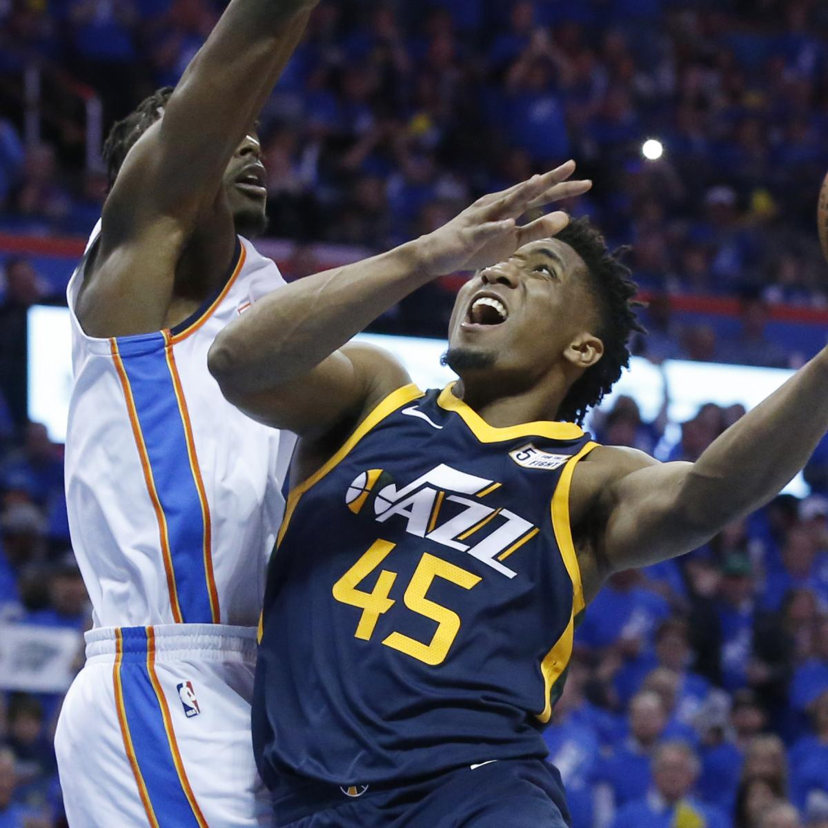 Donovan Mitchell Carried Off During Game 5 Vs. Rockets