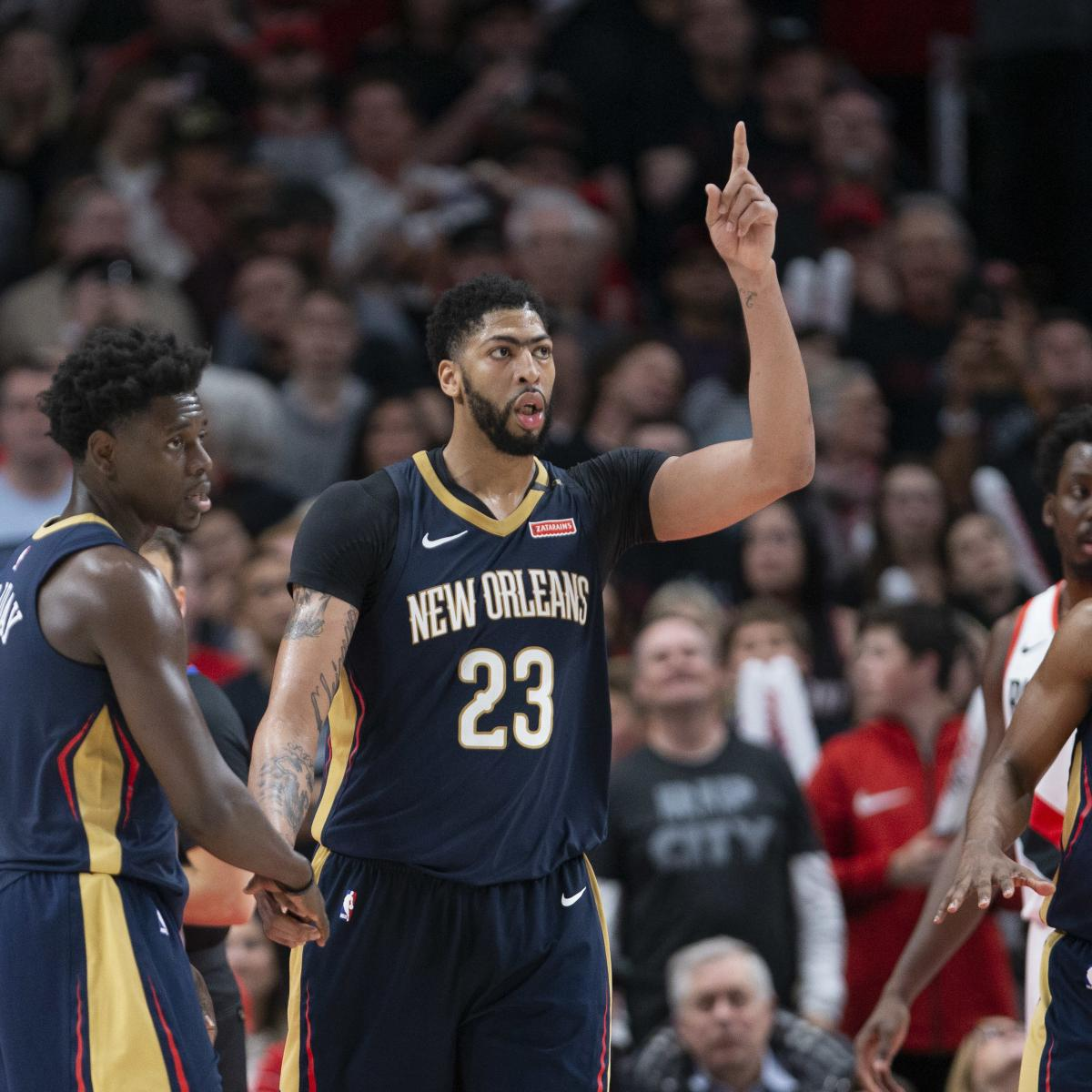 Portland Trail Blazers Injury News: How Anthony Davis, Pelicans Defied Expectations After