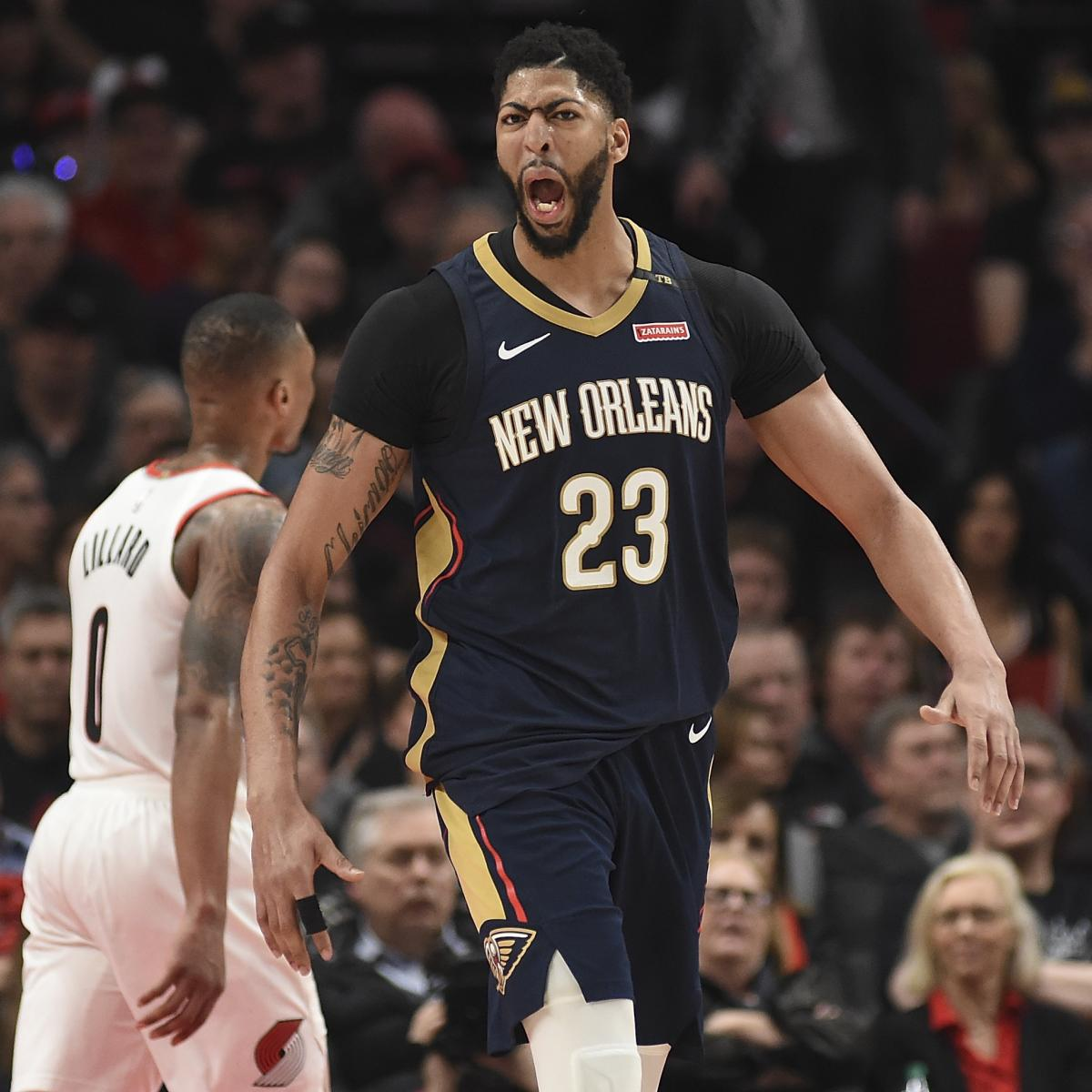 Blazers Home Court Advantage: NBA Playoff Schedule 2018: Updated Bracket Guide And
