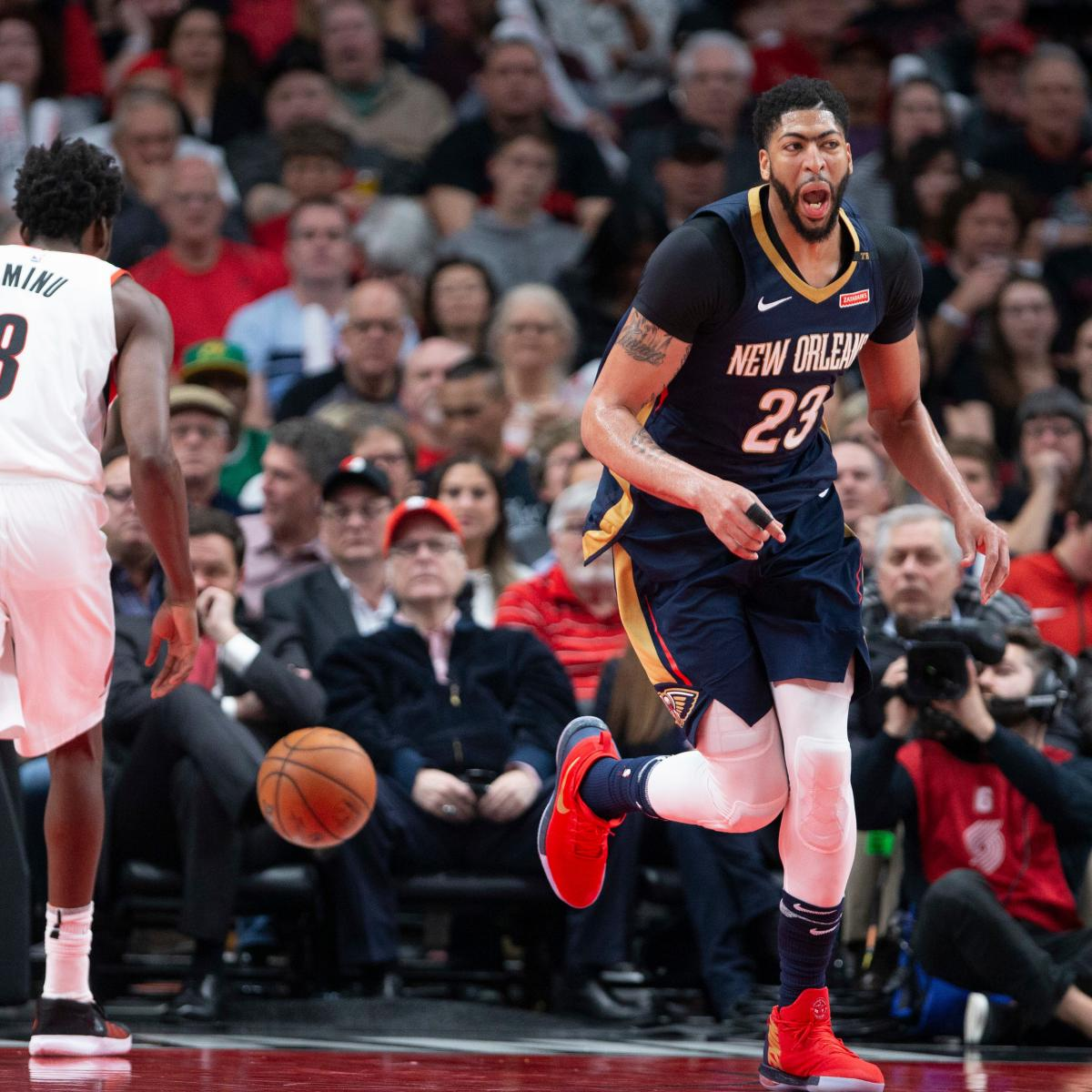 Anthony Davis, Pelicans Outlast Trail Blazers In Game 2