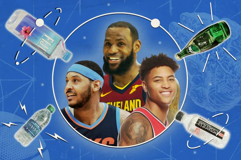 f24ab666cf5a The Bottled Water Obsession Taking over NBA Locker Rooms