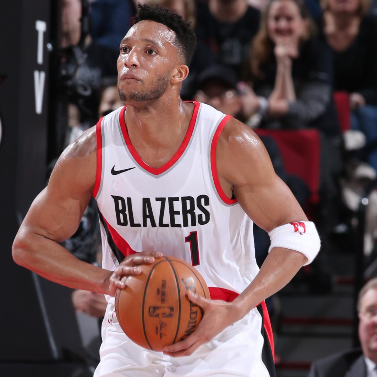 Blazers Game 3: Evan Turner Out For Game 3 Of Blazers Vs. Pelicans Due To