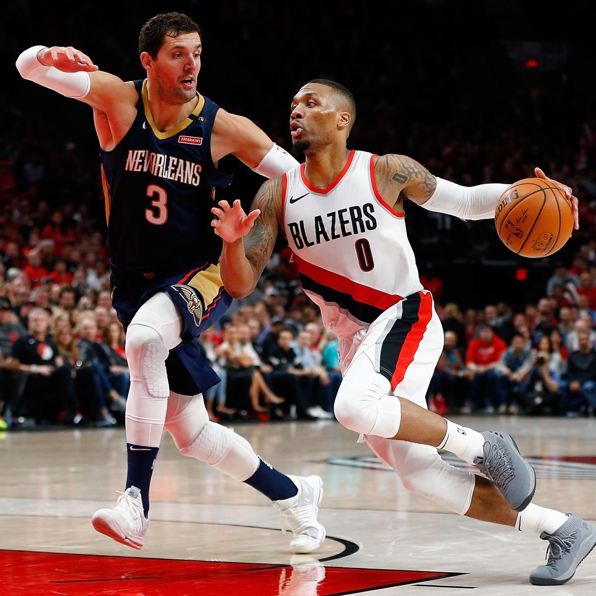 Blazers Trail: Damian Lillard: Trail Blazers Must Match Pelicans