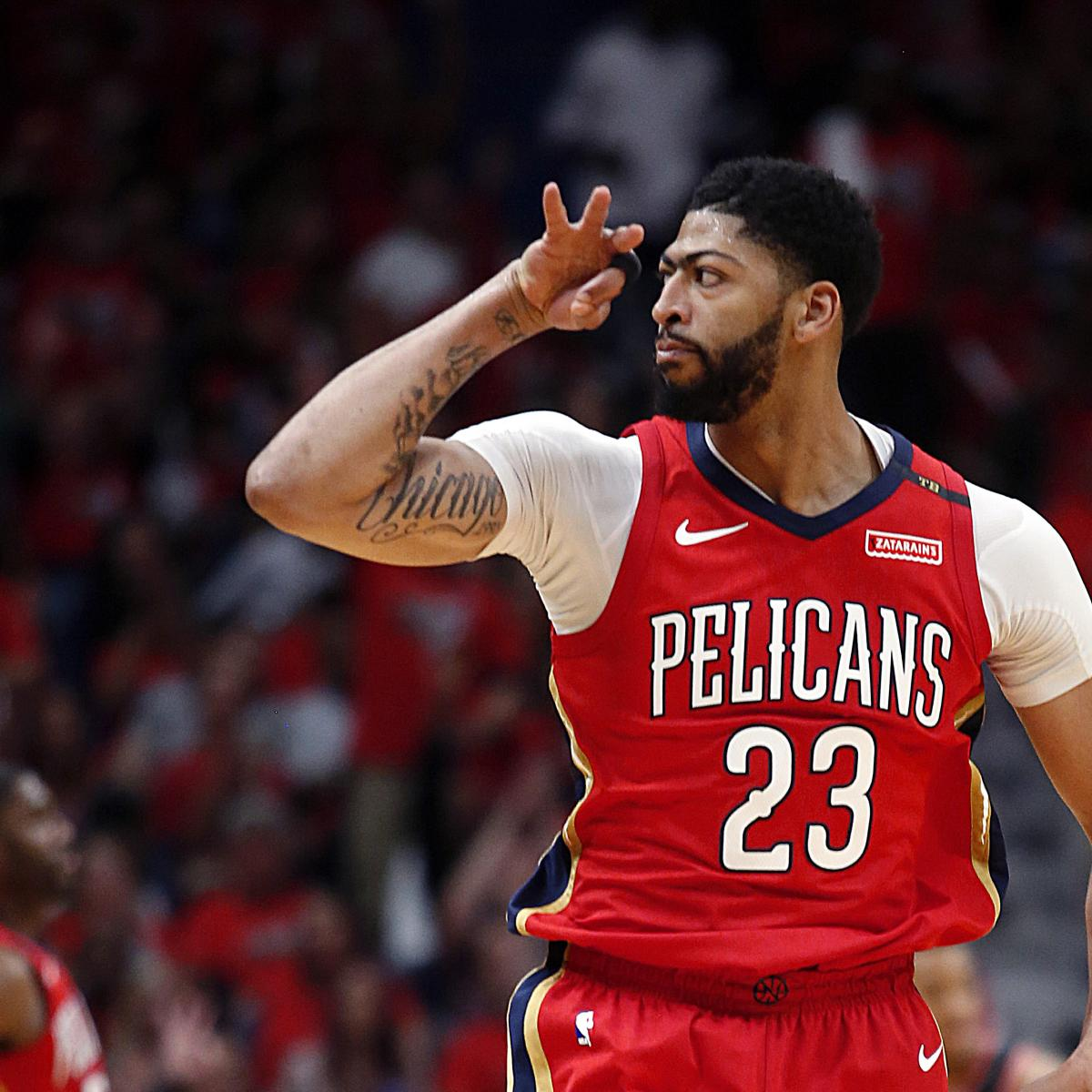 Anthony Davis, Jrue Holiday Combine For 88 As Pelicans