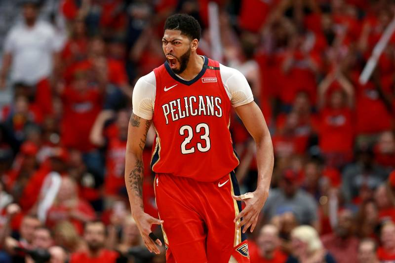 Anthony Davis Drops Pelicans Playoff Record 47 Points on