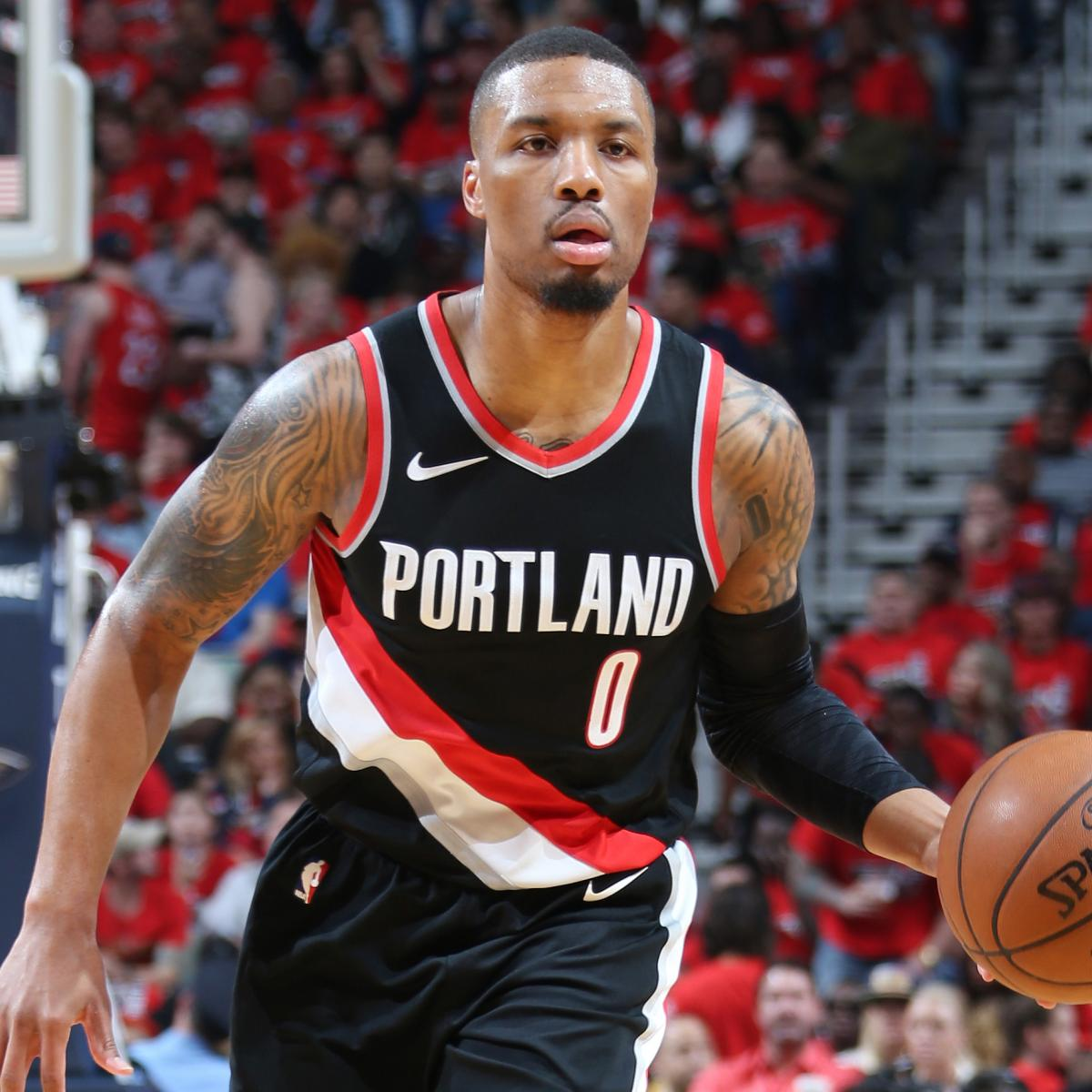 Damian Lillard Says Trail Blazers 'Still Capable' After