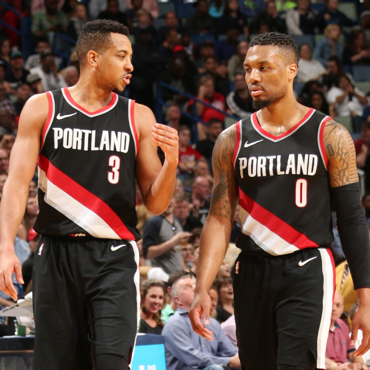 Damian Lillard: Blazers' Damian Lillard Talks Possibly Splitting Up With