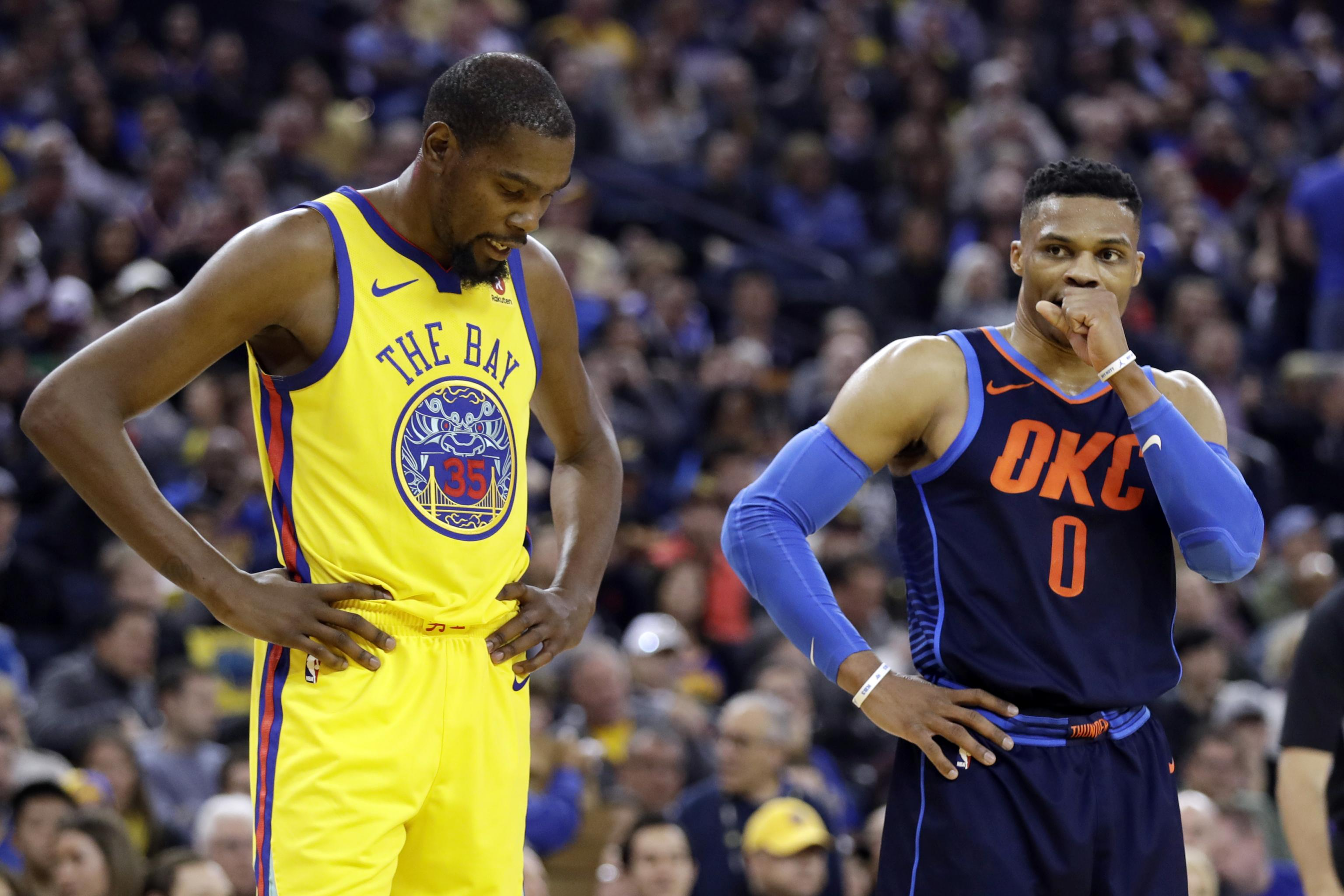 Kevin Durant: It Was 'Total Accident' He Liked Comment Ripping Russell  Westbrook | Bleacher Report | Latest News, Videos and Highlights