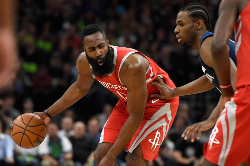 657a26e5241f Monday Playoff Takeaways  James Harden Reminds NBA How High Rockets ...