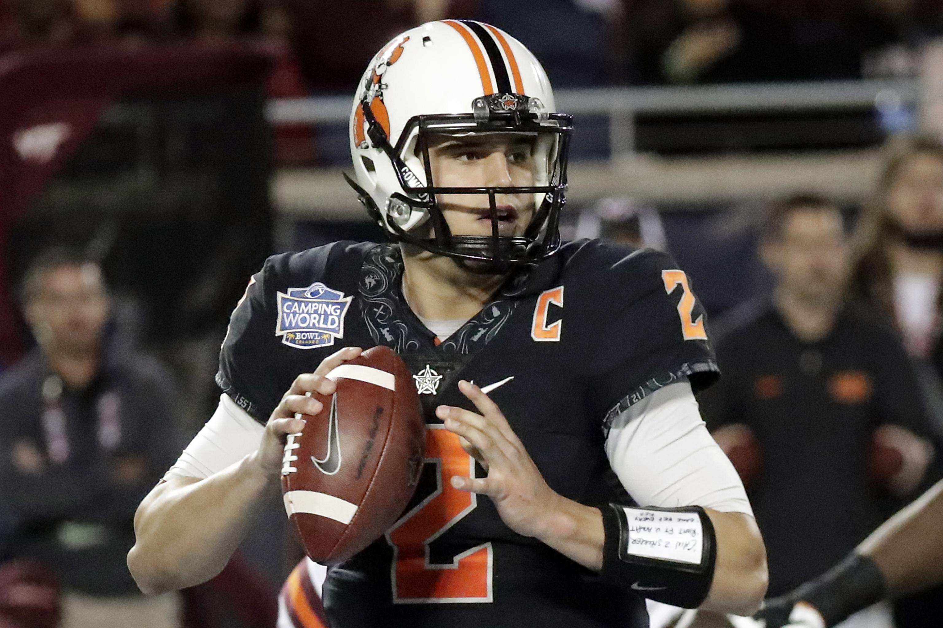 c6231be9 Mason Rudolph NFL Draft 2018: Scouting Report for Pittsburgh ...