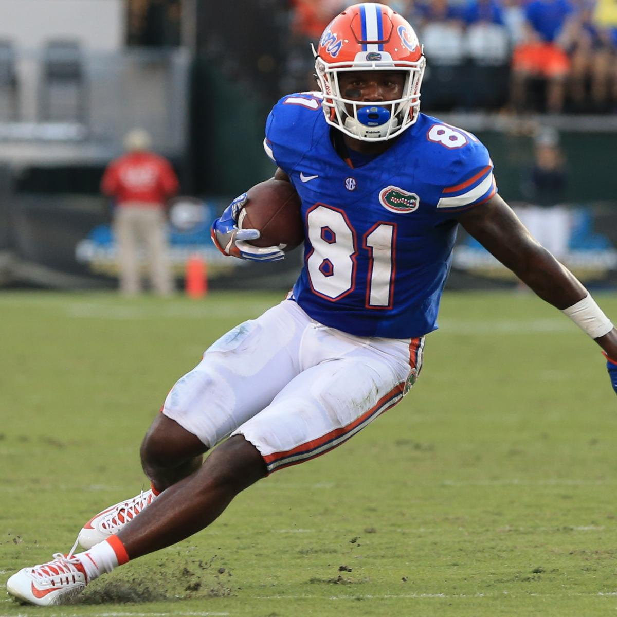 eb0a24bb7 Browns Pick Controversial Antonio Callaway in 2018 NFL Draft  Joins Josh  Gordon