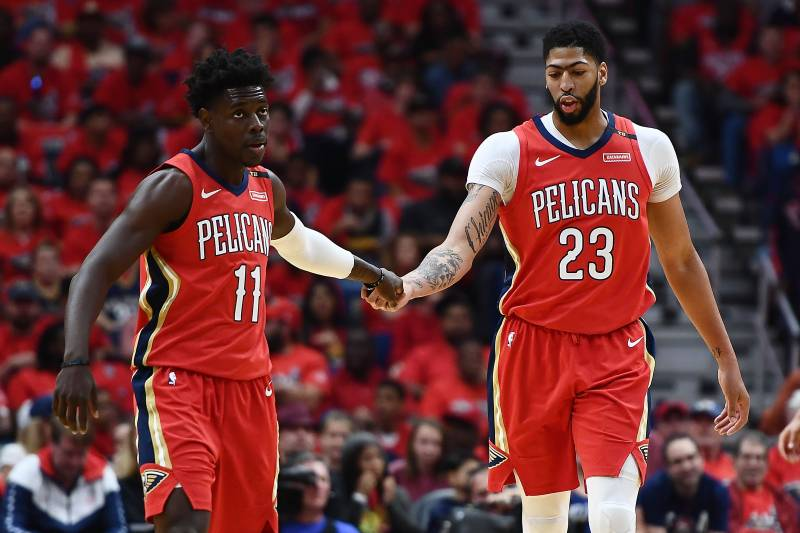 93d92ae7590 Can Anthony Davis, New Orleans Pelicans Finally End Golden State Warriors'  Run?