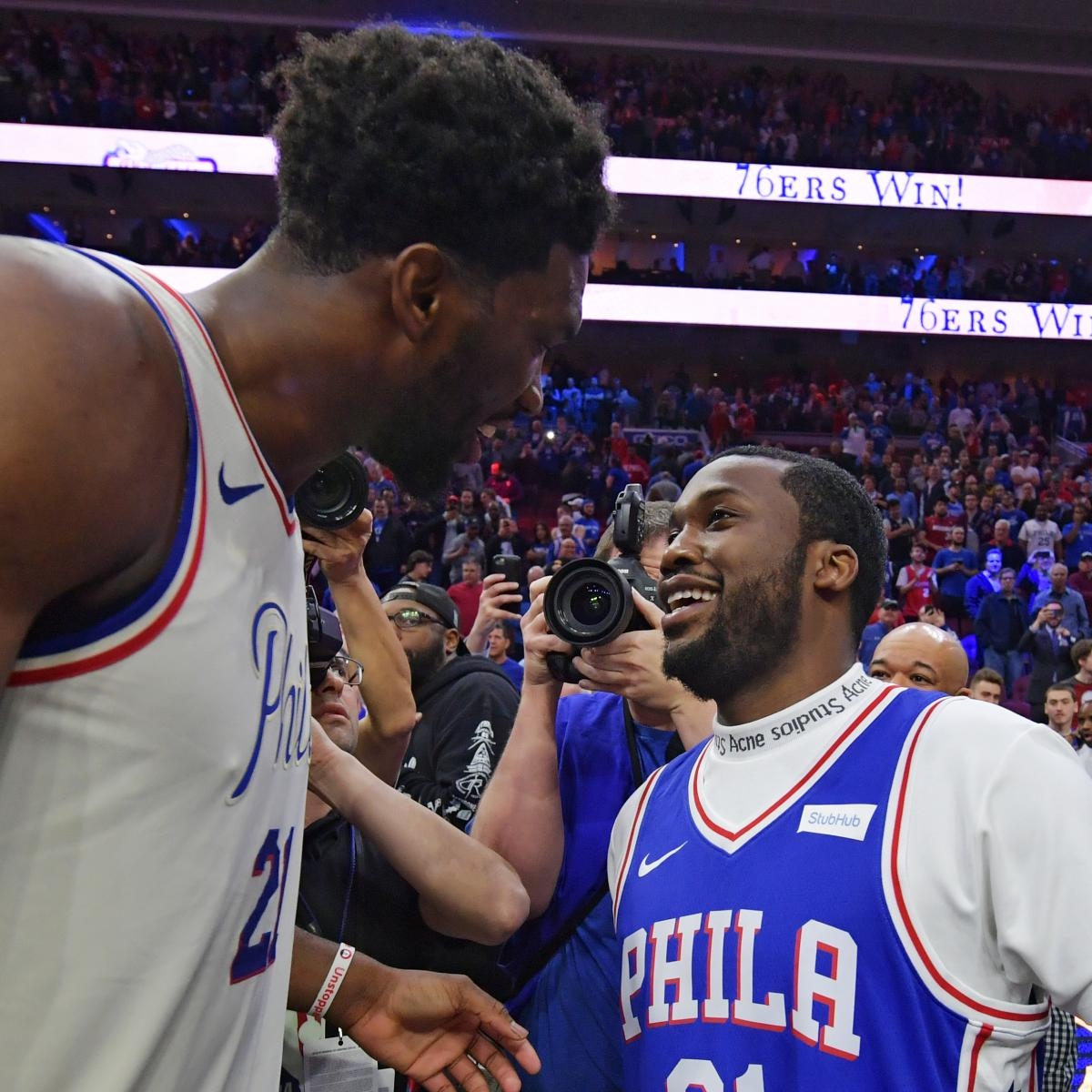 Viral News Website Needs A Playful Logo: They Freed Meek Mill And The Sixers Welcomed Him Home In