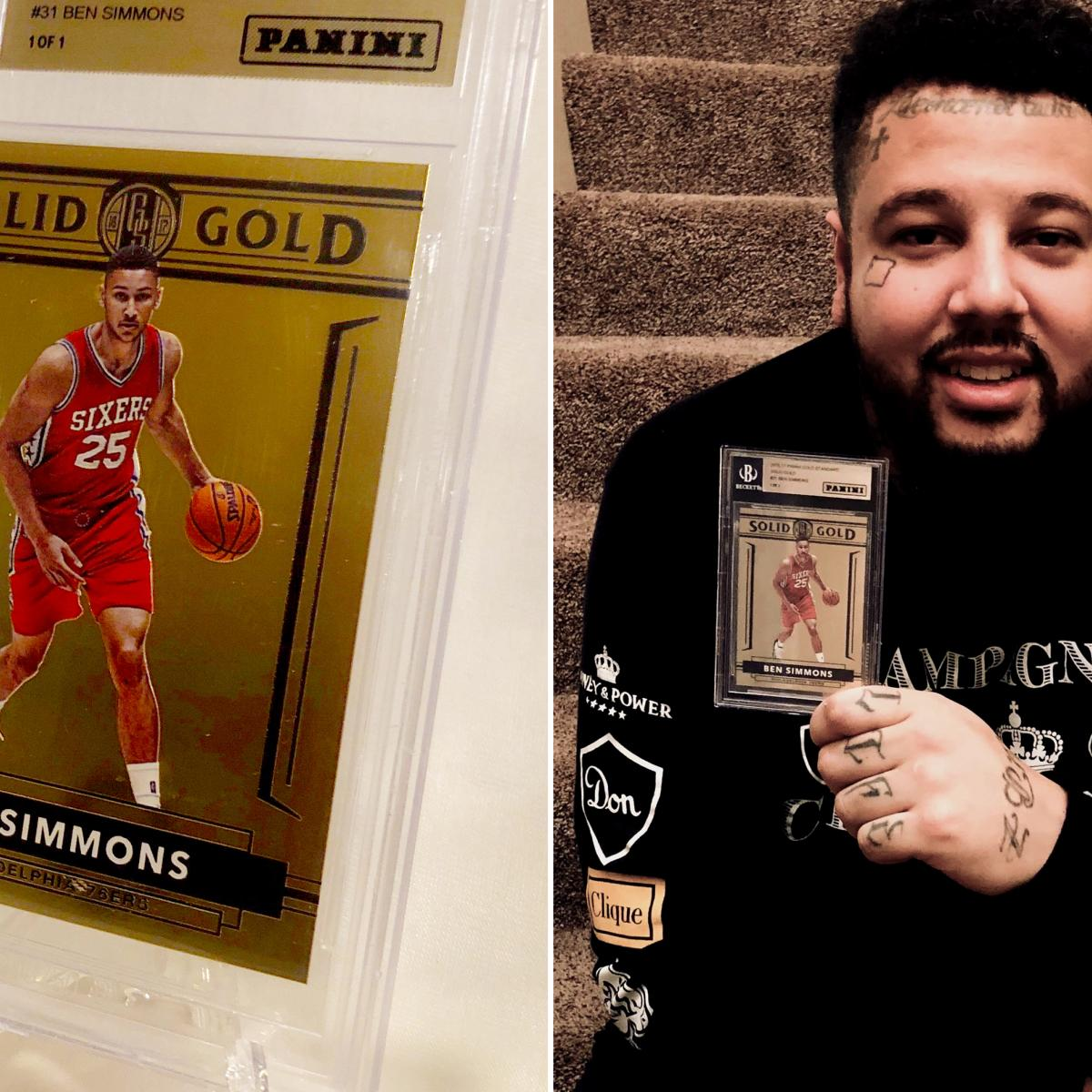 150000 For A Ben Simmons Rookie Card May Not Be Enough For