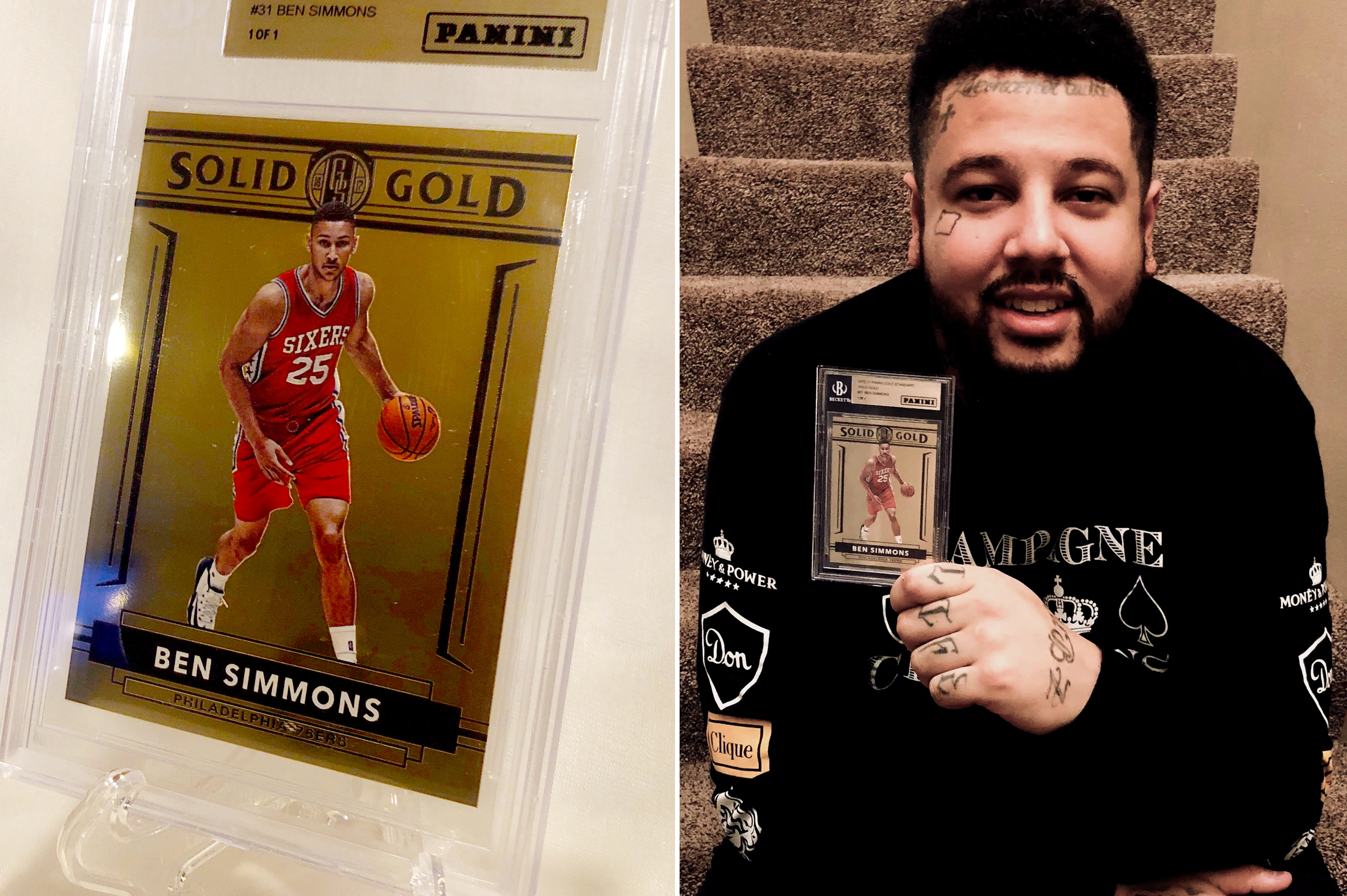 150000 For A Ben Simmons Rookie Card May Not Be Enough For This