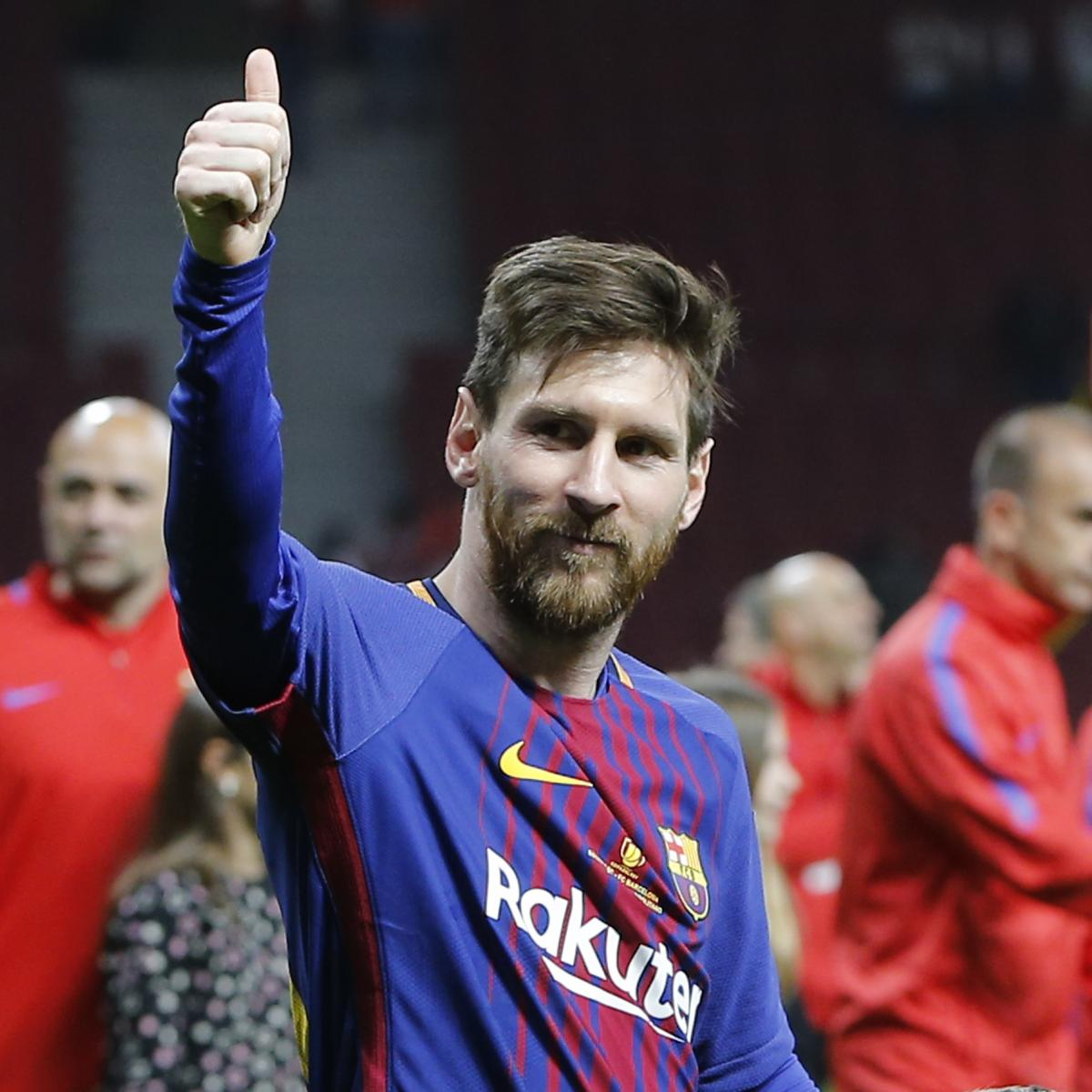 Lionel Messi A Look At The Barcelona Star S Sensational: Lionel Messi Wins Legal Branding Battle With Bicycle