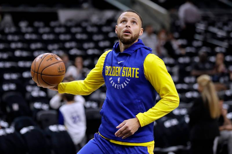 793ba134b6c2 Stephen Curry Questionable for Game 1 of Warriors vs. Pelicans with ...