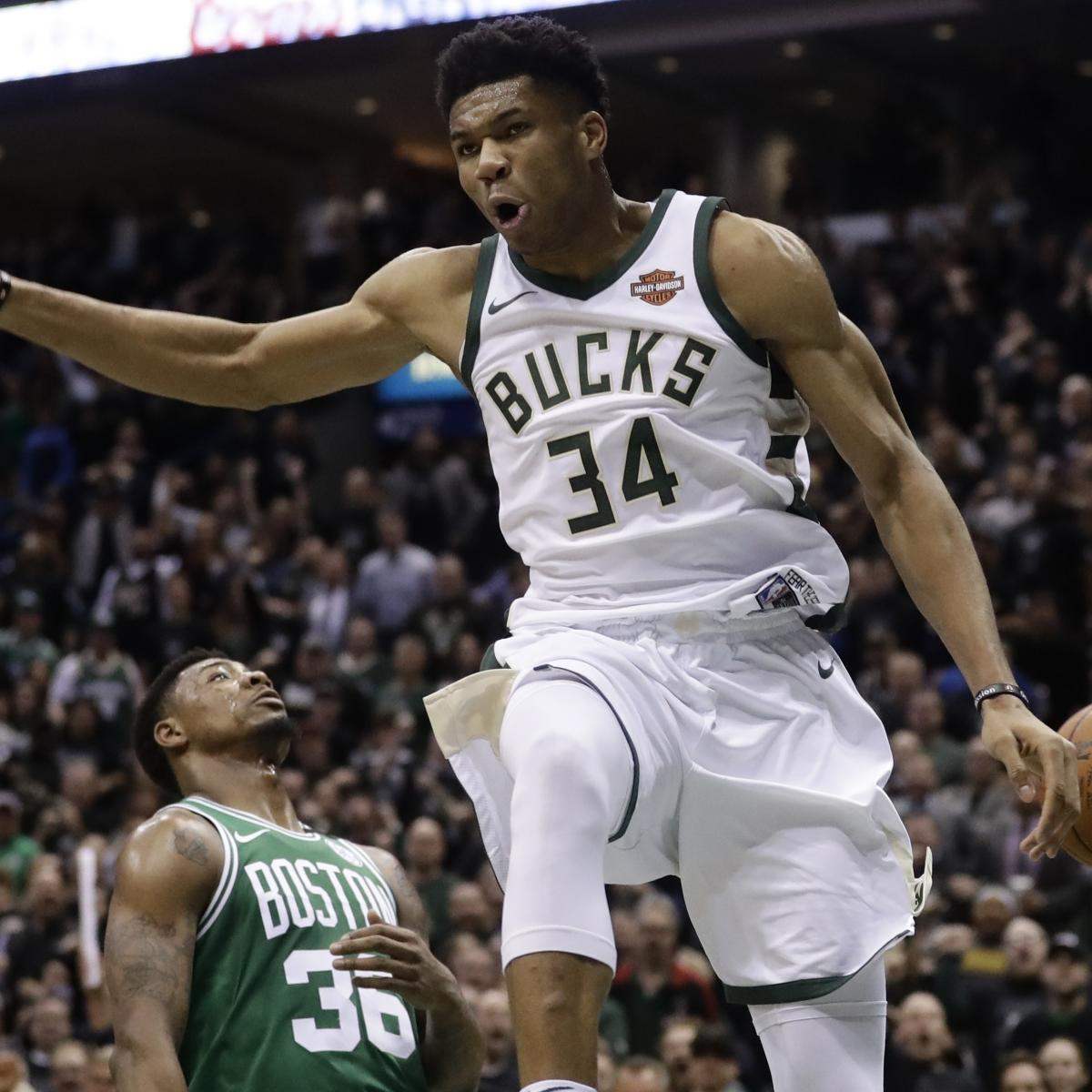 Giannis Antetokounmpo's Legend Just Beginning And Thursday