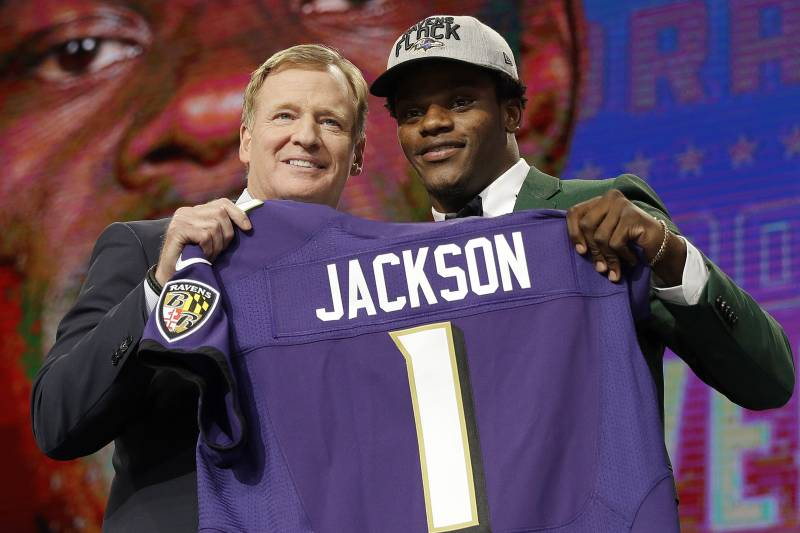 wholesale dealer 64275 4c27b Lamar Jackson: Ravens 'Gonna Get a Super Bowl Out of Me ...