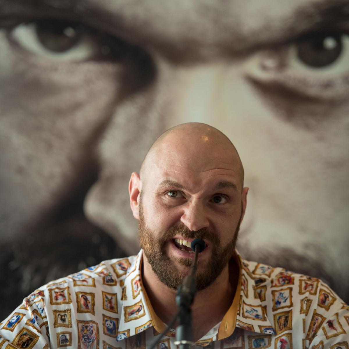 Tyson Fury Calls Out Tony Bellew, David Haye, Talks
