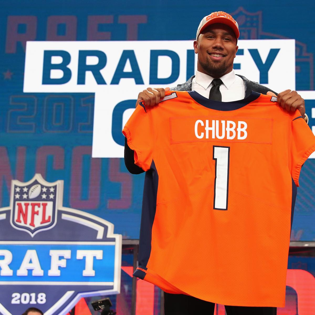 Bradley Chubb's Phone Froze From Texts After Broncos Took
