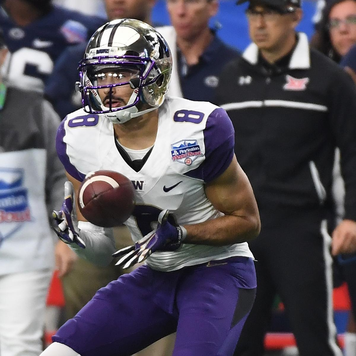 Dante Pettis NFL Draft 2018: Scouting Report, Grade For