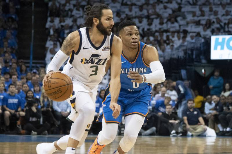 068126a7a64 Ricky Rubio Out Game 1 vs. Rockets with Hamstring Injury  May Miss ...