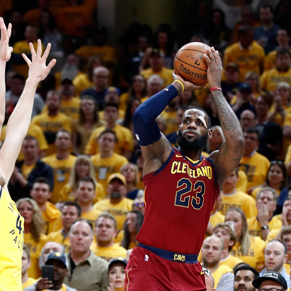 NBA Playoff Bracket 2018: TV, Live-Stream Guide For Sunday